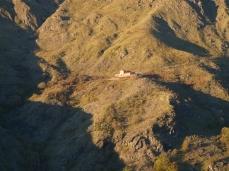 il rifugio dalla malga di Vallepiana